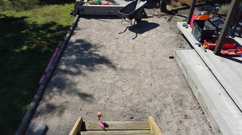 Small Paved Area Preparation